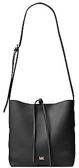 MICHAEL Michael Kors Women's Large Junie Pebbled Leather Messenger Bag
