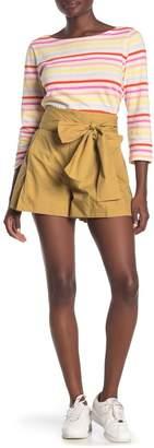 J.Crew J. Crew Cotton Poplin Tie Waist Shorts