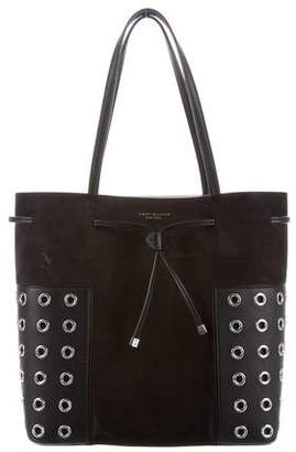 Tory Burch T-Grommet Leather Tote