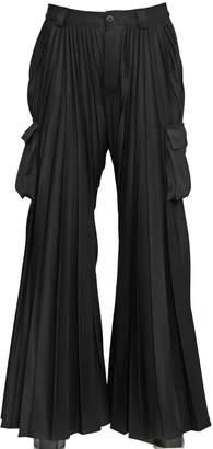 Hood by Air Hba Pleated Flared Cargo Pants