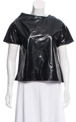 Chloé Short Sleeve Scoop Neck Top