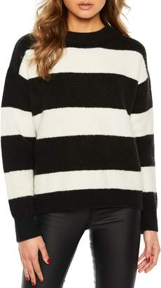 Bardot Stripe Boxy Sweater