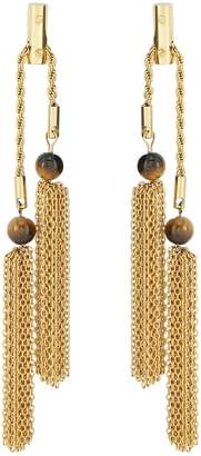 Amanda Wakeley Gold Rope Chain Earrings