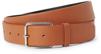 Jil Sander Brown Leather Belt