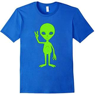 Peace Sign Alien Roswell T-shirt
