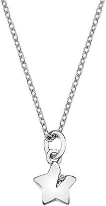 Hot Diamonds Accents By Accents by Silver Diamond Accent Star Pendant