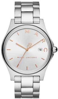 Marc Jacobs Henry Analog Stainless Steel Bracelet Watch
