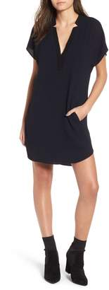 ASTR the Label ASTR V-Neck Crepe Shift Dress