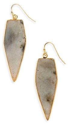 Women's Panacea Labradorite Drop Earrings $28 thestylecure.com