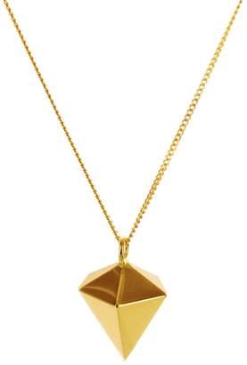 Origami Jewellery Mini Decagem Necklace Gold