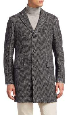 Saks Fifth Avenue COLLECTION Unconstructed Wool Topcoat