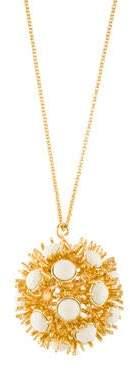 Lele Sadoughi Dandelion Pendant Necklace