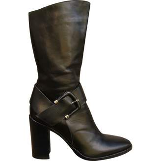 Outlet Cheapest For Cheap Cheap Online Pre-owned - Black Leather Boots Sartore Clearance Many Kinds Of xcS76