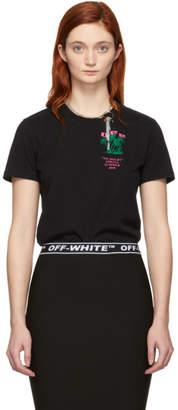 Off-White Off White Black Island Logo T-Shirt