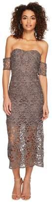 J.o.a. Off the Shoulder Midi Dress Women's Dress