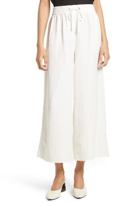 Women's Elizabeth And James Halsey Silk & Linen Culottes $275 thestylecure.com