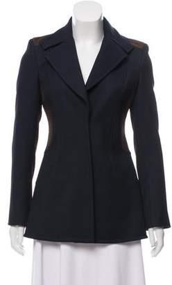 Versace Textured Short Coat