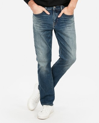 Express Classic Straight Hyper Stretch Jeans