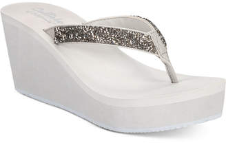 Callisto Hayden Thong Platform Wedge Sandals Women's Shoes