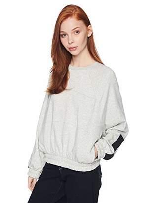 Hurley Women's Dolman Fleece Long Sleeve Crew Neck Sweatshirt