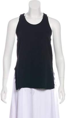 Bassike Sleeveless Scoop Neck Tank