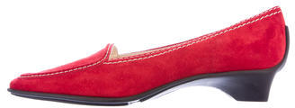 Kate Spade Kate Spade New York Suede Leather Round-Toe Loafers