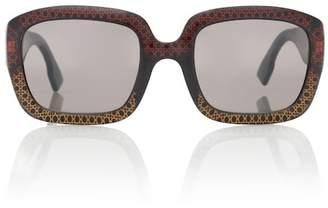 Christian Dior Sunglasses DDior square acetate sunglasses