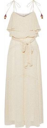 Rebecca Minkoff Decklan Ruffled Floral-Print Georgette Gown