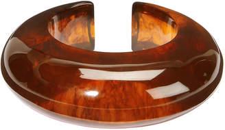 Cult Gaia Amber Acrylic Cuff Bracelet