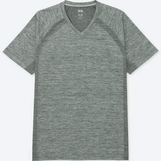 Uniqlo MEN Dry-EX V Neck Short Sleeve T