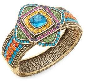Heidi Daus Crystal Art Deco Bangle Bracelet