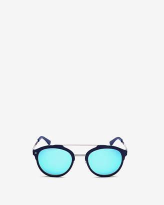 Express Prive Revaux Blue Producer Sunglasses