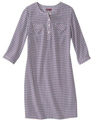 Merona Petites 3/4 Sleeve Shift Dress - Assorted Prints