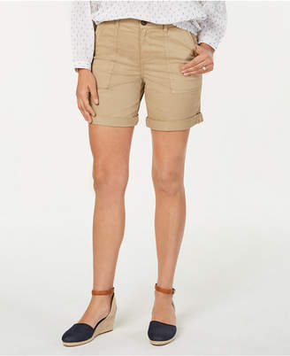 Style&Co. Style & Co Double-Pocket Cuffed Shorts, Created for Macy's