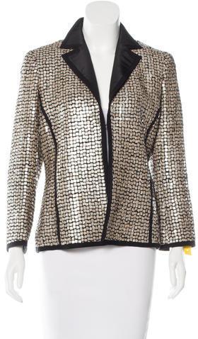 AkrisAkris Silk Sequined Blazer