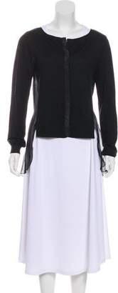 Nina Ricci Long Sleeve Knit Cardigan