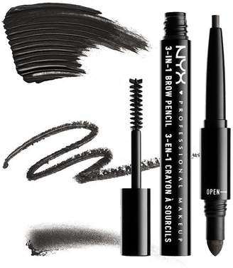 NYX (3 Pack 3-In-1 Brow Pencil