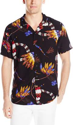 GUESS Men's Chief Feather Shirt