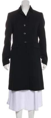 Michael Kors Virgin Wool Knee-Length Coat
