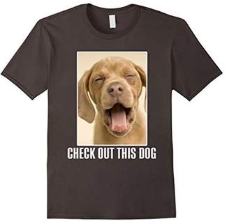 Ask Me To Turn Around Check Out This Dog TShirt - Both Sides