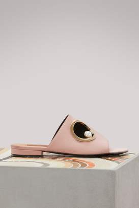 Marianna Coliac leather mules