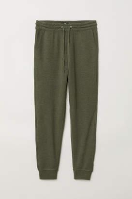 H&M Slim Fit Sweatpants - Green