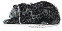 Judith Leiber WIldcat Crystal Box Bag $5,495 thestylecure.com