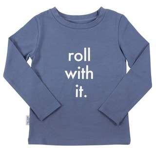 TINY TRIBE Roll Long Graphic T-Shirt