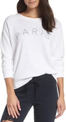 David Lerner Paris Raglan Sleeve Sweatshirt