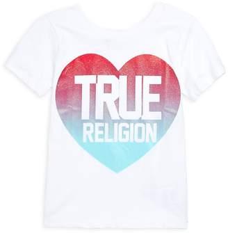 True Religion Girl's True Heart Cotton Tee
