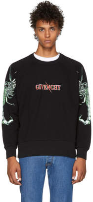 Givenchy Black Scorpion Logo Sweatshirt