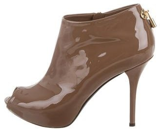Louis Vuitton Oh Really! Patent Booties