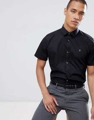 Farah Smart slim short sleeve smart shirt