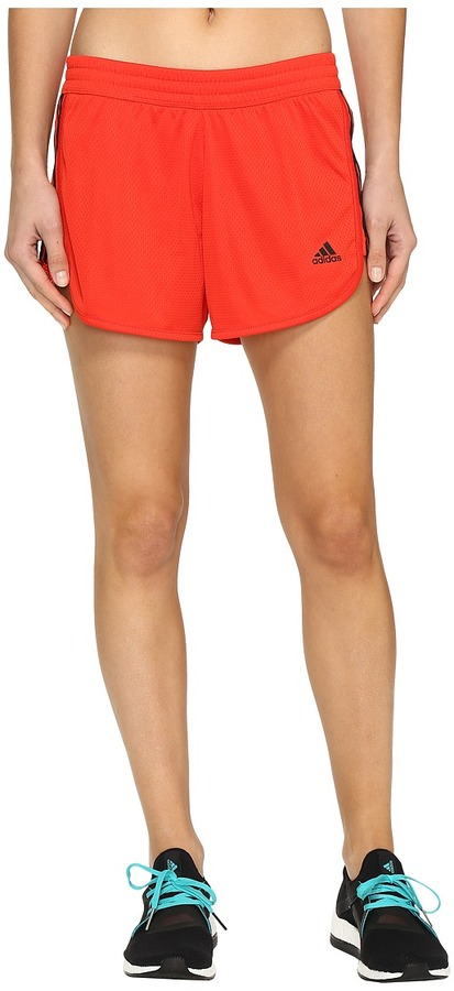 adidas - 3-Stripes Knit Shorts Women's Shorts